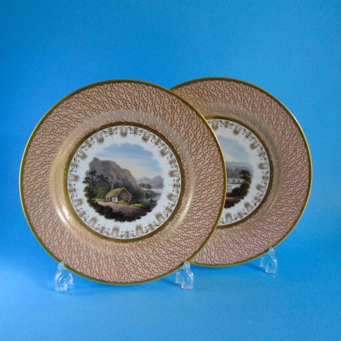SOLD – Pair Flight Barr Barr plates
