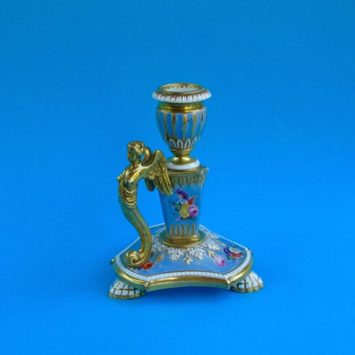 SOLD – Spode library candlestick