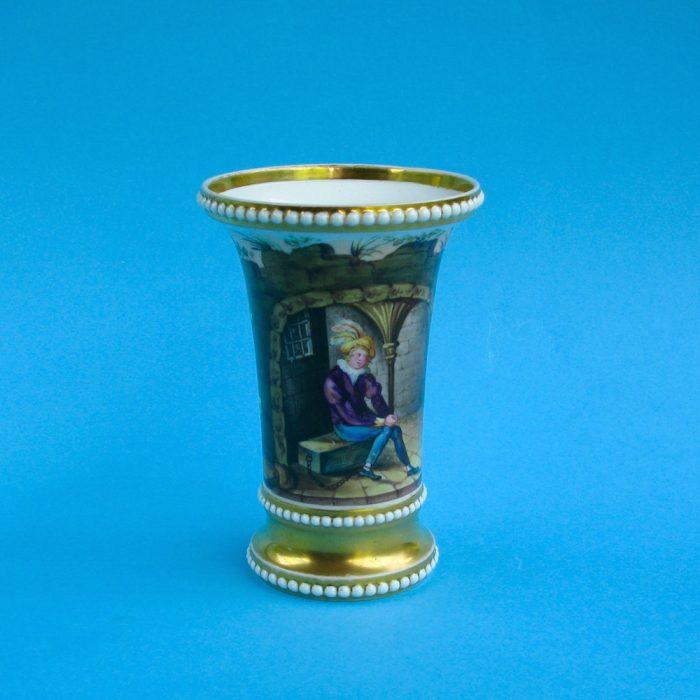 SOLD – Spode match pot