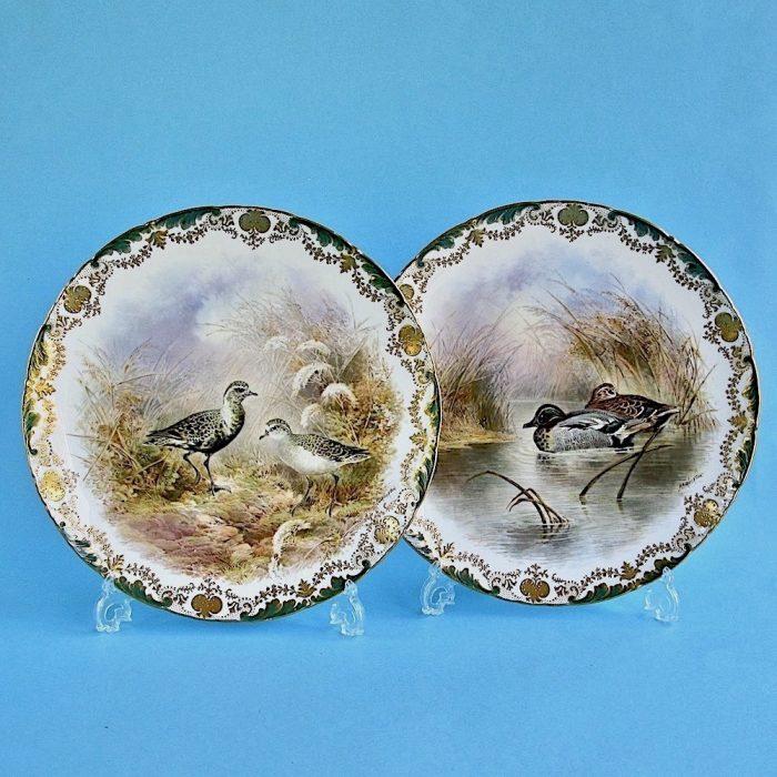Item No. F201 – Pair Cauldon plates