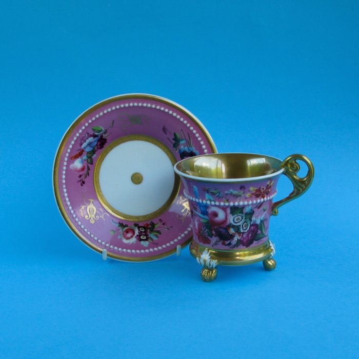 SOLD – Minton cabinet cup and saucer