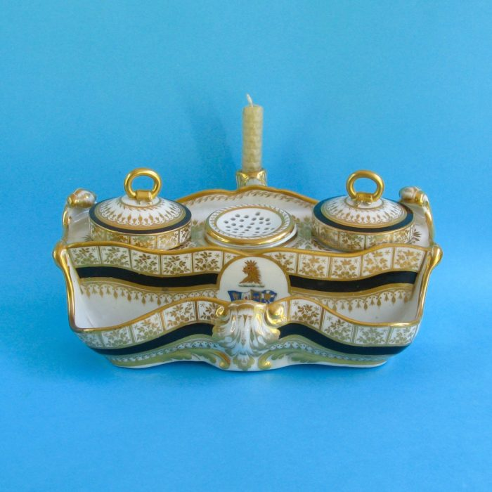 SOLD – Chamberlain Worcester inkstand