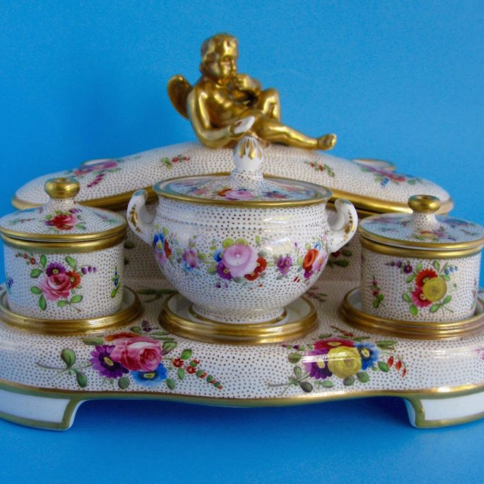 Sold – Spode inkstand