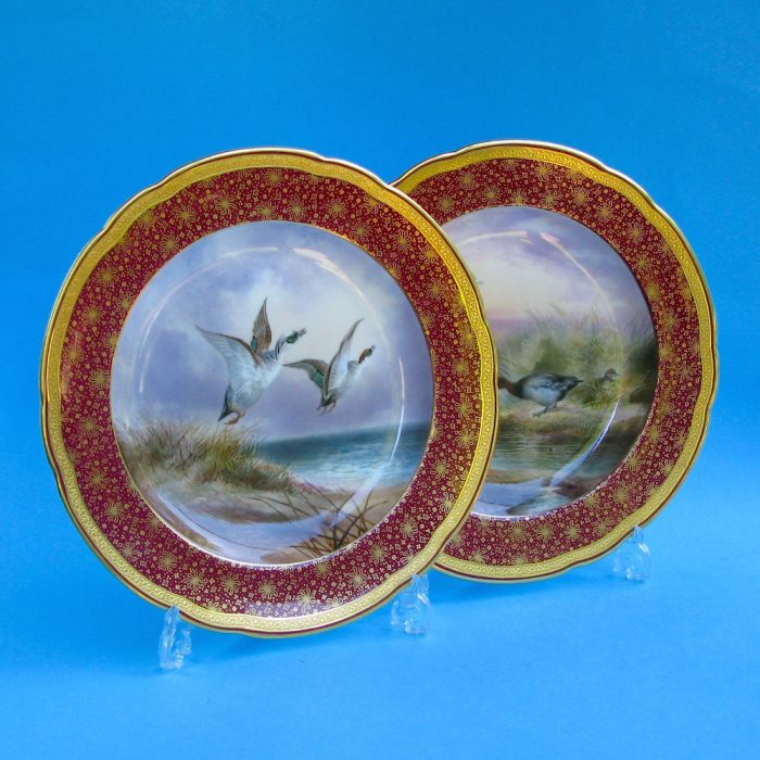 Item No. F203 – Set of six Cauldon plates