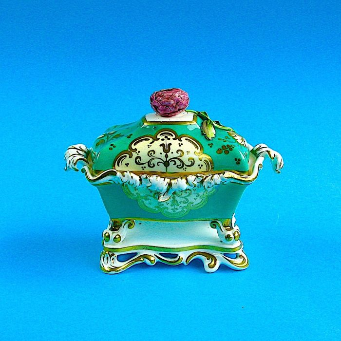 Sold – Alcock  double inkwell