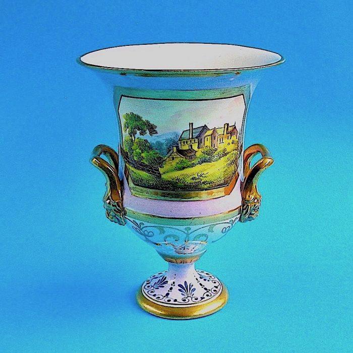 Item No. 1928 – English porcelain vase