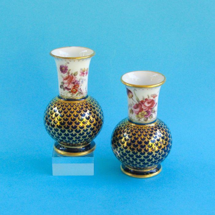 Item No. 1781 – Pair Spode vases