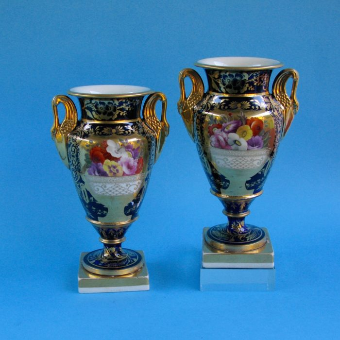 Item No. 2094 – Pair Charles Bourne vases