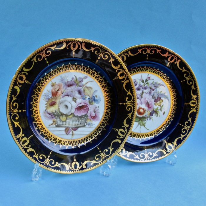 Item No. 1982 – Pair Coalport plates