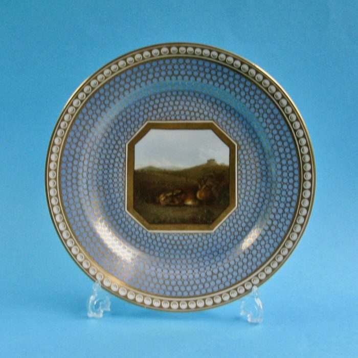 SOLD – Chamberlain Worcester plate
