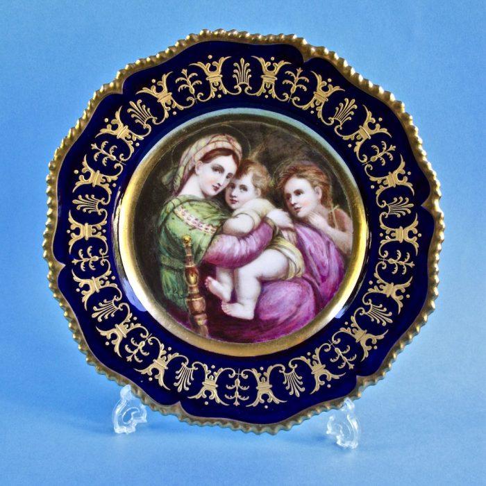 Item No. 2096- Worcester (Kerr and Binns) plate