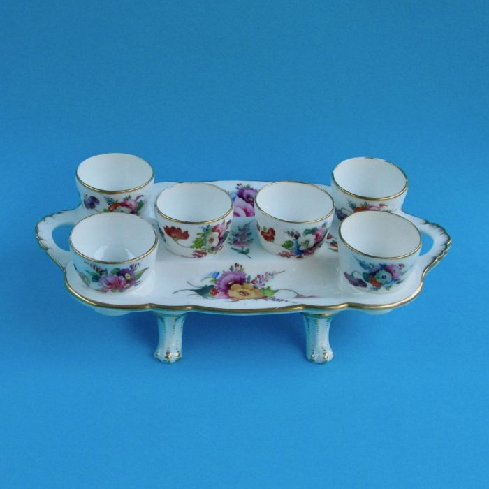 Item No. 1955 – Coalport egg cup stand