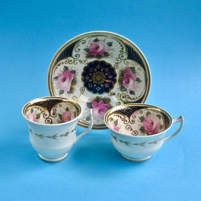 Item No. 2067 – English porcelain trio