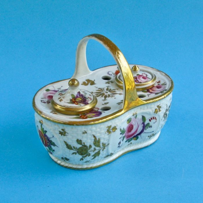 SOLD – Spode inkwell