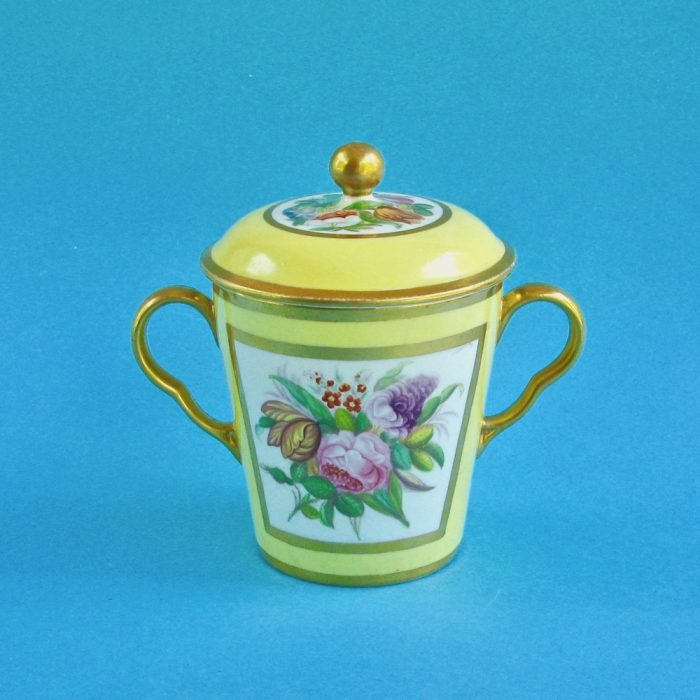 Item No. 2050 – Coalport cup and cover