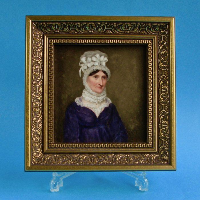 Item no. 2036 – Framed plaque by William Corden the Elder