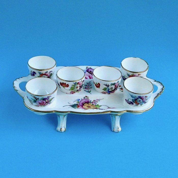 Item No. 1955 – Coalport egg cup stand