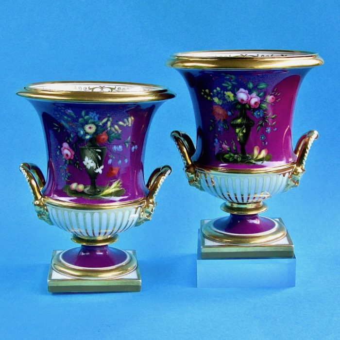 Item No. 1797 – Pair of Flight Barr and Barr vases