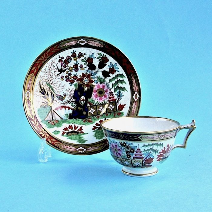 Item No. 2100 – Flight Barr and Barr Worcester cup and saucer