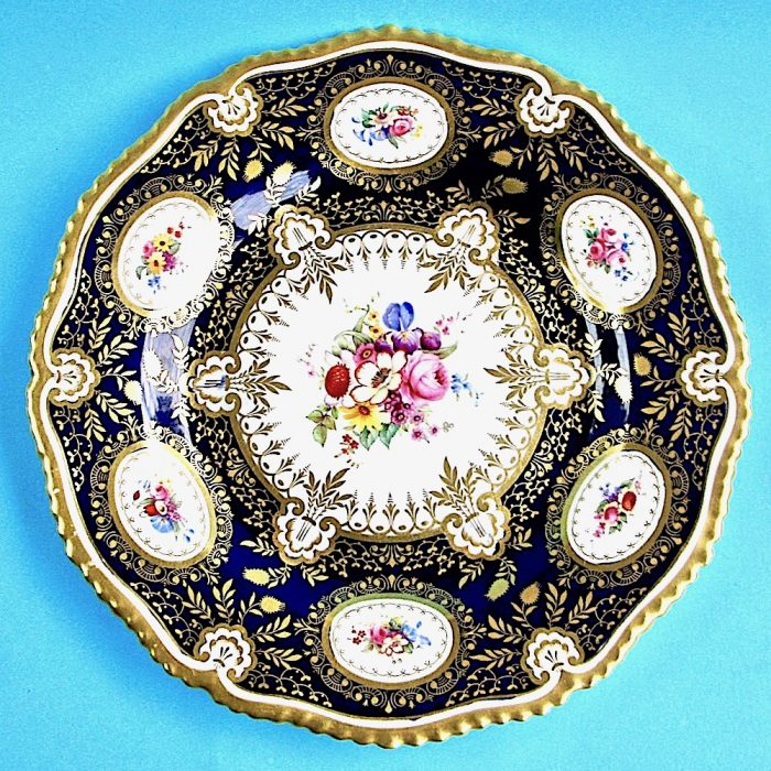 Item No. B515 – Royal Worcester Plate