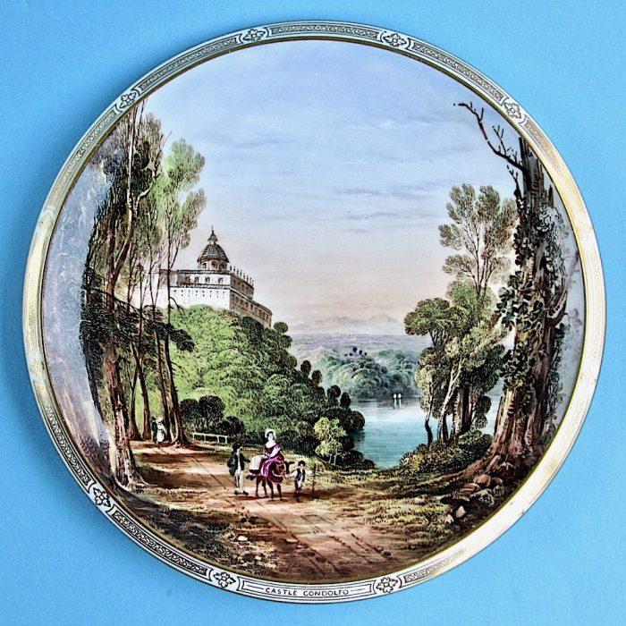 Item No. B513 – Davenport cabinet plate