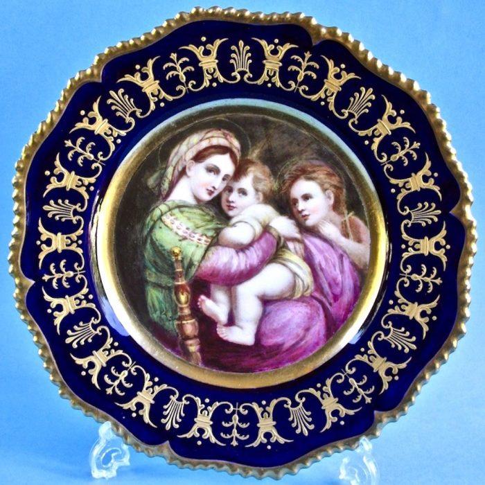 Item No. 2096 – Worcester (Kerr and Binns) plate