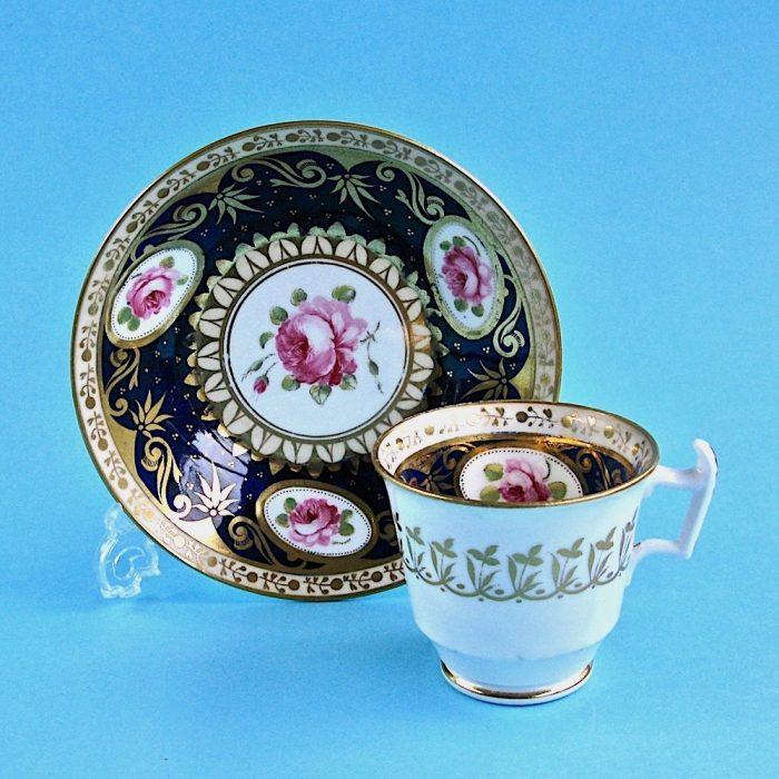 Item No. B501 – English porcelain cup and saucer